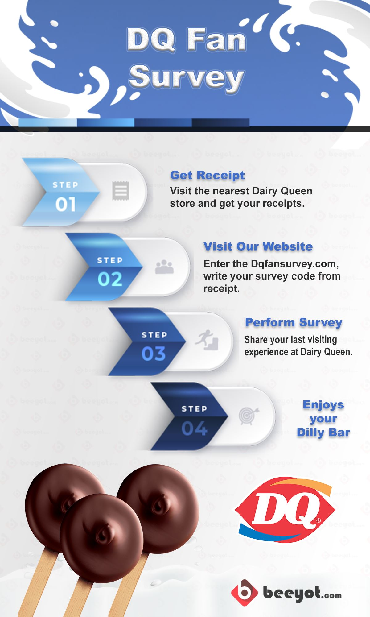 Dqfansurvey.com Guide Steps