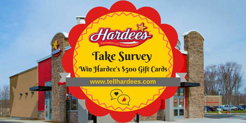 Hardees survey Survey & Sweepstakes Survey & Sweepstakes