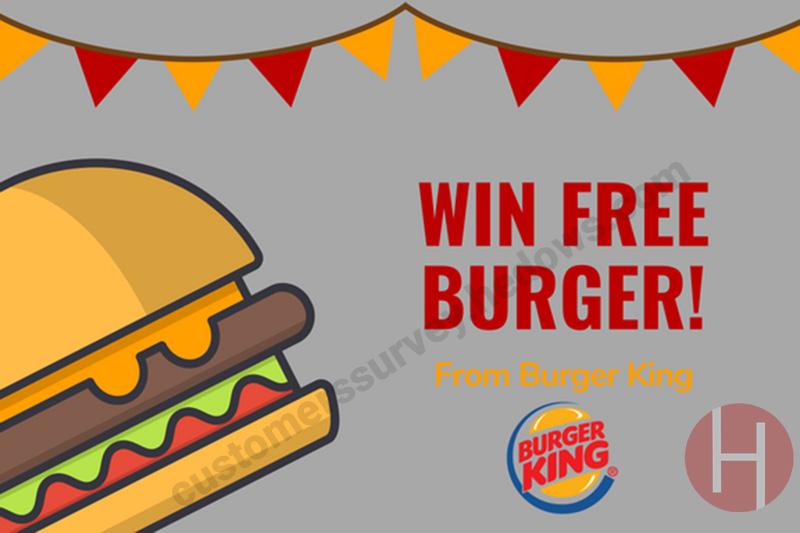 MyBKExperience win free burger