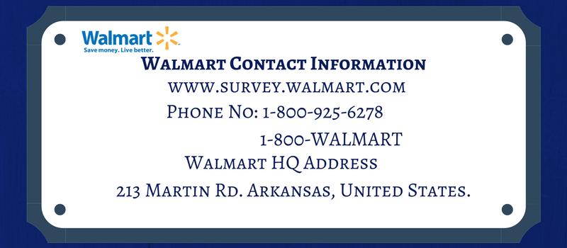 walmart contacts