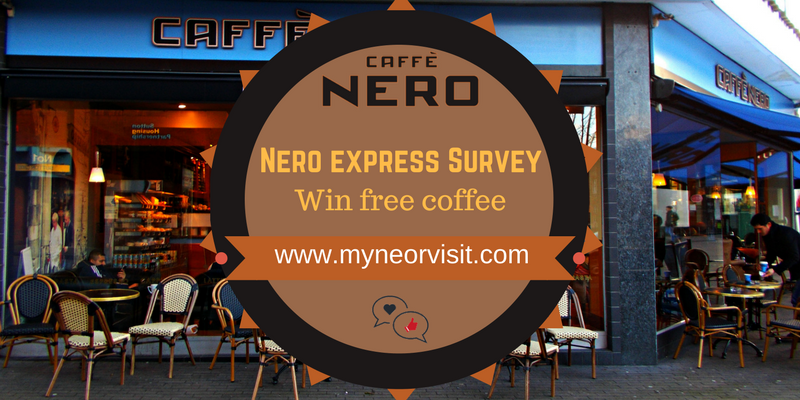 caffee nero feature image Survey & Sweepstakes Survey & Sweepstakes
