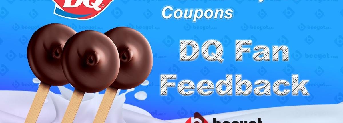 DqFanFeedback.com free dilly bar coupons